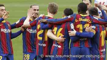 Primera Division: FC Barcelona klettert auf Rang zwei - 19. Liga-Tor für Messi