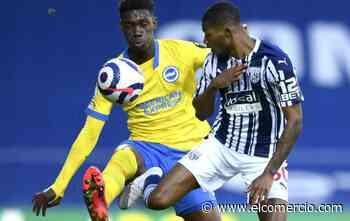 Brignton, sin Moisés Caicedo, perdió ante el West Bromwich