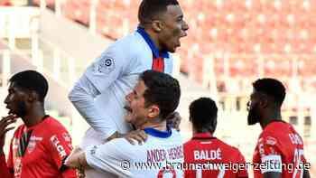 Ligue 1: Mbappé-Doppelpack bei Pflichtsieg von Paris Saint-Germain