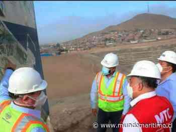 Perú: Ministro de Transporte inspeccionó obras del Terminal Portuario de Chancay - MundoMaritimo.cl