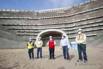 Terminal Portuario de Chancay: en abril iniciarían trabajos para viaducto subterráneo - El Peruano