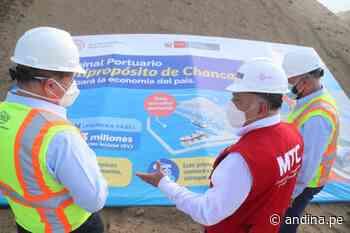 En abril iniciarían trabajos para viaducto subterráneo del terminal portuario de Chancay - Agencia Andina