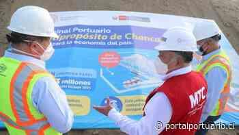 Perú: Inspeccionan avance de las obras del Terminal Portuario de Chancay - PortalPortuario