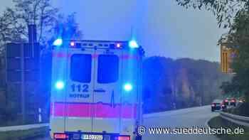 Schwerverletzter Motorradfahrer nach Überholmanöver - Süddeutsche Zeitung