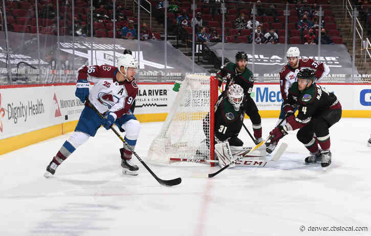 Avs Fend Off Coyotes After Late Offensive Push: 'More Interesting Than It Needed To Be'
