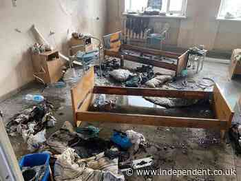 Ukraine explosion: One killed after oxygen blast in hospital ward treating Covid patients