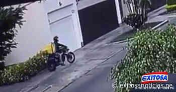 San Borja: mujer fue asaltada por delincuente que fingía de repartidor - exitosanoticias