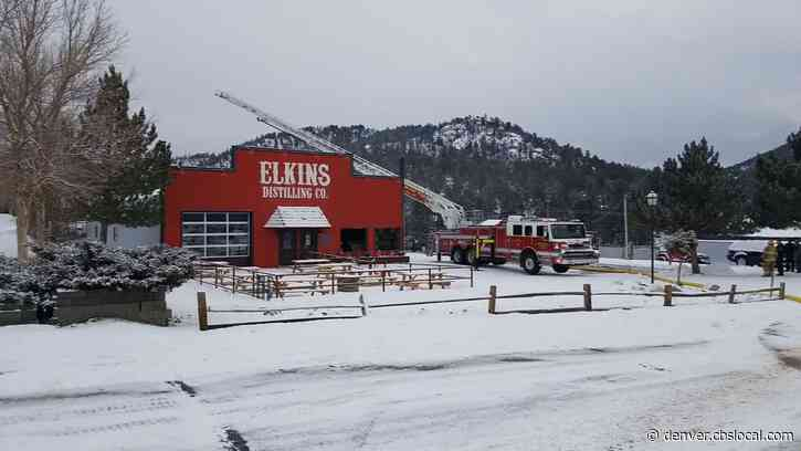 Explosion & Fire At Elkins Distilling In Estes Park Hospitalizes 2 People
