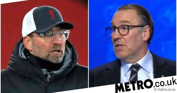 Jurgen Klopp faces the sack if Liverpool miss out on Champions League, says Paul Merson