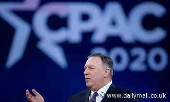 Pompeo 'let's it rip' at today's CPAC