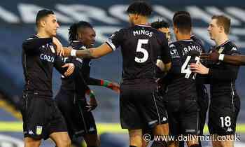 Leeds 0-1 Aston Villa: Anwar El Ghazi's early strike is enough for Dean Smith's men