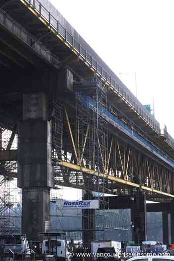 Ironworkers bridge sees start of two-year maintenance project - Vancouver Is Awesome
