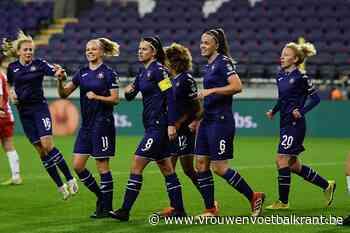 Ook Eendracht Aalst kan paars-witte machine niet stoppen: 42 op 42 na nieuwe ruime overwinning voor Anderlecht - Vrouwenvoetbalkrant