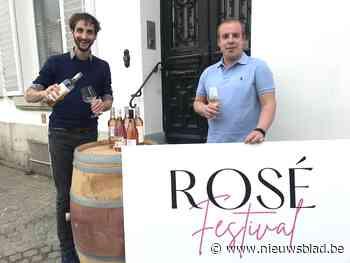 """Aalstenaars lanceren Roséfestival... in een box: """"Als de zoon van Pierre Van Damme zijn feest geeft, houden wij proeverij"""" - Het Nieuwsblad"""
