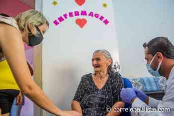 Pirapora do Bom Jesus antecipa vacinação de idosos entre 75 a 79 anos para segunda, 1 - Correio Paulista