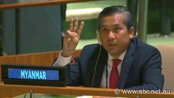 Myanmar's UN envoy breaks ranks, denounces junta and is fired on state TV