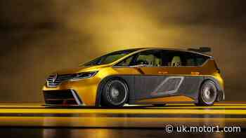Renault Espace F1 revival rendering says no to boring MPVs