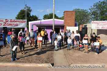 Entregaron Viviendas sociales en la localidad de Palo Negro - Nuevo Diario de Santiago del Estero