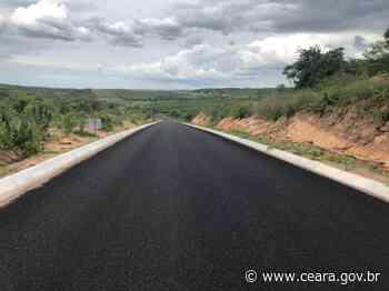 População de Mauriti poderá contar com 33 km da CE-397 prontos nas próximas semanas - Ceará