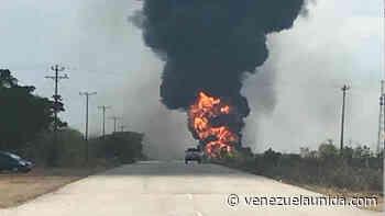 Reportan explosión de oleoducto de Pdvsa en Urica, Monagas - http://venezuelaunida.com/