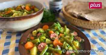 Die Landfrau aus Ober-Ramstadt verrät ihr schnelles Eintopf-Rezept. Kartoffeln sind die Basis, dazu kommen Gemüse der Saison. - Echo Online