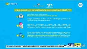 Invitan a residentes de San Miguelito a registrarse para la vacunación - TVN Panamá