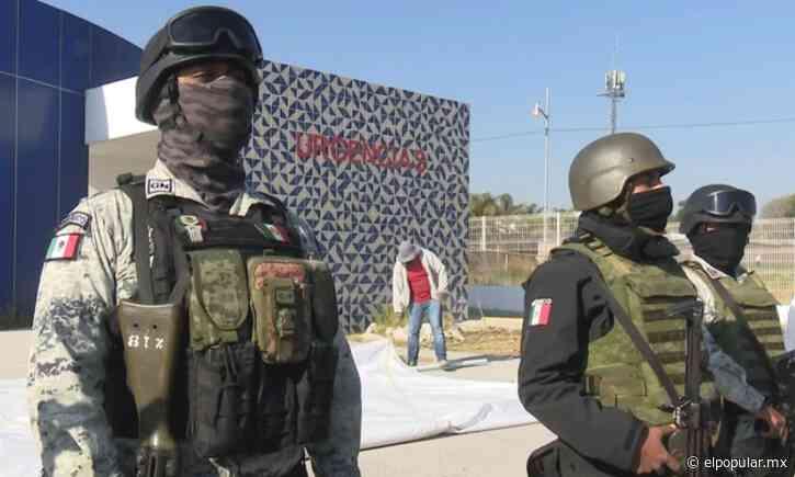 Entre molestias desmantelan carpa de vacunas Covid19 en Tlaxcalancingo - El Popular