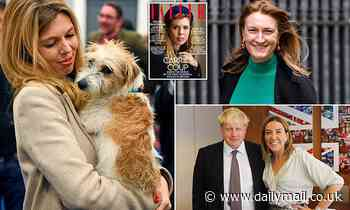 Carrie Symonds and Dilyn the dog are running No 10, snipes Dominic Cummings's ally