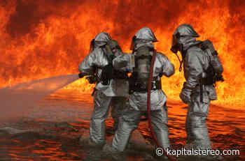 ¡Por fin! Se conformó el cuerpo oficial de bomberos en Cravo Norte - Kapital Stereo