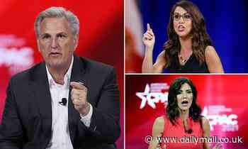 Kevin McCarthy says 'he'd wager his house on GOP taking back the House' during CPAC panel