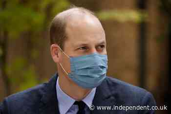 Prince William warns of 'rumours and misinformation' about Covid vaccines