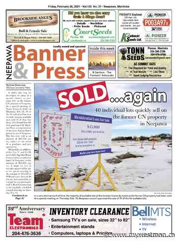 Friday, February 26, 2021 Neepawa Banner & Press - myWestman.ca