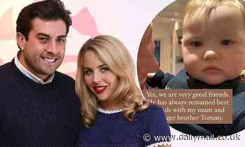 Lydia Bright reveals she's still 'very good friends' with ex James Argent
