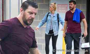DWTS Manu Feildel is spotted leaving a Sydney dance studio ahead of all-stars reboot
