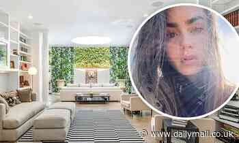 Lily Collins sells her $13.5M Beverly Hills mansion after getting engaged to Charlie McDowell
