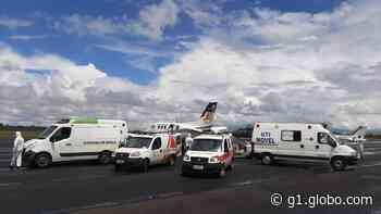 Covid-19: cinco pacientes de Monte Carmelo são transferidos para hospital em Barbacena - G1