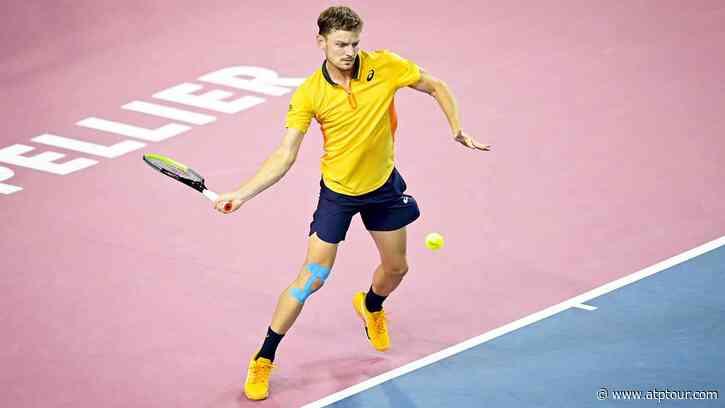 David Goffin Claims Maiden Montpellier Final Spot - ATP Tour
