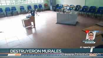 Vandalizan Escuela Nuevo Chorrillo en Arraiján - Telemetro