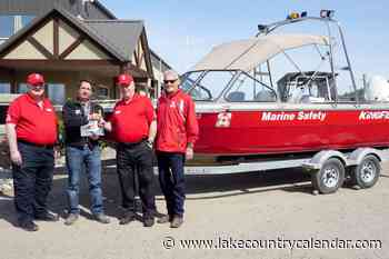 KingFisher boat supports Okanagan water safety – Lake Country Calendar - Lake Country Calendar