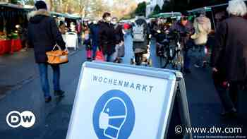 Coronavirus digest: Most Germans support opening shops in March - DW (English)