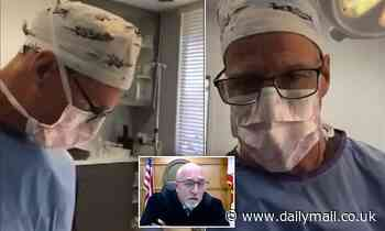 Plastic surgeon goes to traffic court on Zoom WHILE OPERATING, commissioner postpones case