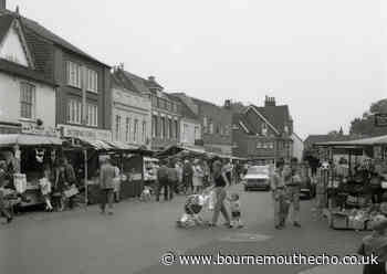Old photos of Ringwood shops and market from 1970