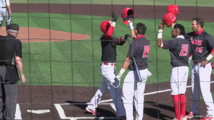 UNM sweeps in their double header with Air Force on Saturday. 11-7 & 5-2