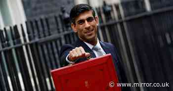 Sunak 'plotting stealth income tax rise' in Budget that will hit working Brits