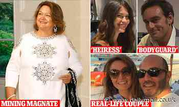 Drama series released 'about Gina Rinehart's daughter' and bodyguard