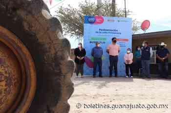SEDESHU arranca obras de infraestructura en Abasolo. - Noticias Gobierno del Estado de Guanajuato