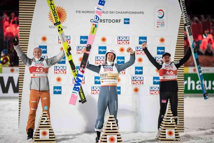 Piotr Zyla ist neuer Weltmeister auf der Normalschanze – Oberstdorfer Geiger holt Silber