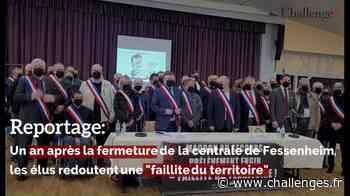 """Reportage: Un an près la fermeture de la centrale de Fessenheim, les élus redoutent une """"faillite du territoire"""" - Challenges.fr"""