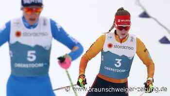 Nordische Ski-WM: Kombiniererinnen hoffen nachWM-Debüt auf mehr