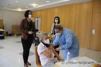 Corona-Schutzimpfung   Landkreis Augsburg plant Vor-Ort-Termine